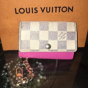 Auth Louis Vuitton Key Case